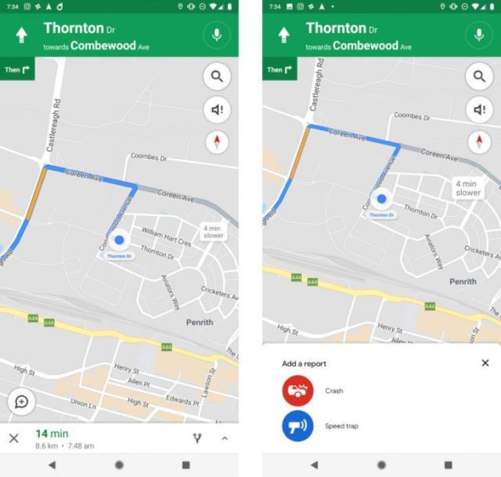 Google Maps: Δοκιμές για αναφορά ατυχημάτων και μπλόκων τροχαίας από τους χρήστες όπως στο Waze