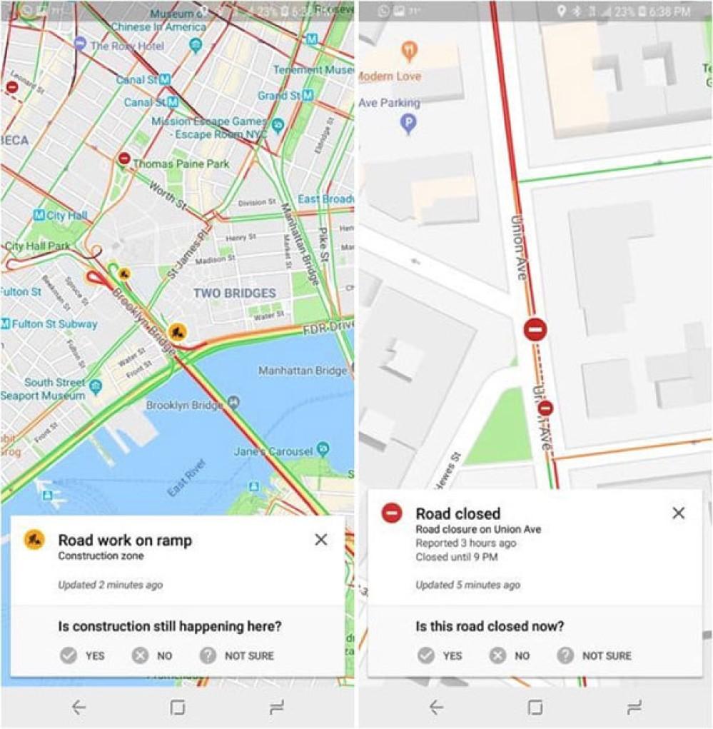 Google Maps: Αποκτά τη λειτουργία αναφοράς συμβάντων στους δρόμους από την εφαρμογή Waze!