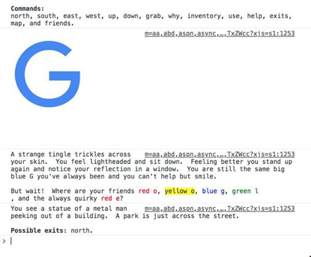 Παίξε το text adventure που έκρυψε η Google στον Chrome browser