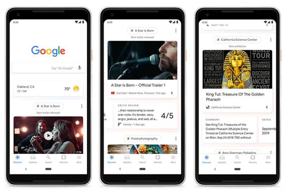 Google Discover: Αυτό είναι το νέο ριζικά ανανεωμένο feed ειδήσεων για τη mobile εφαρμογή της εταιρείας