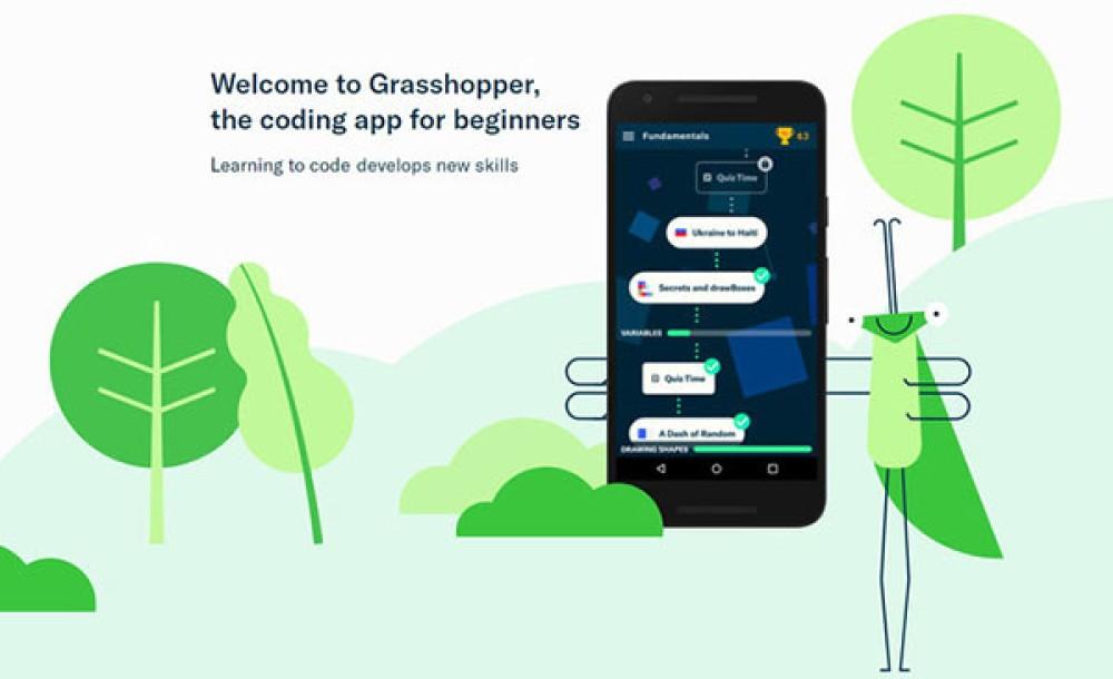 Grasshopper: Η δωρεάν εφαρμογή της Google για να μάθεις Javascript χωρίς να έχεις πρότερη εμπειρία προγραμματισμού