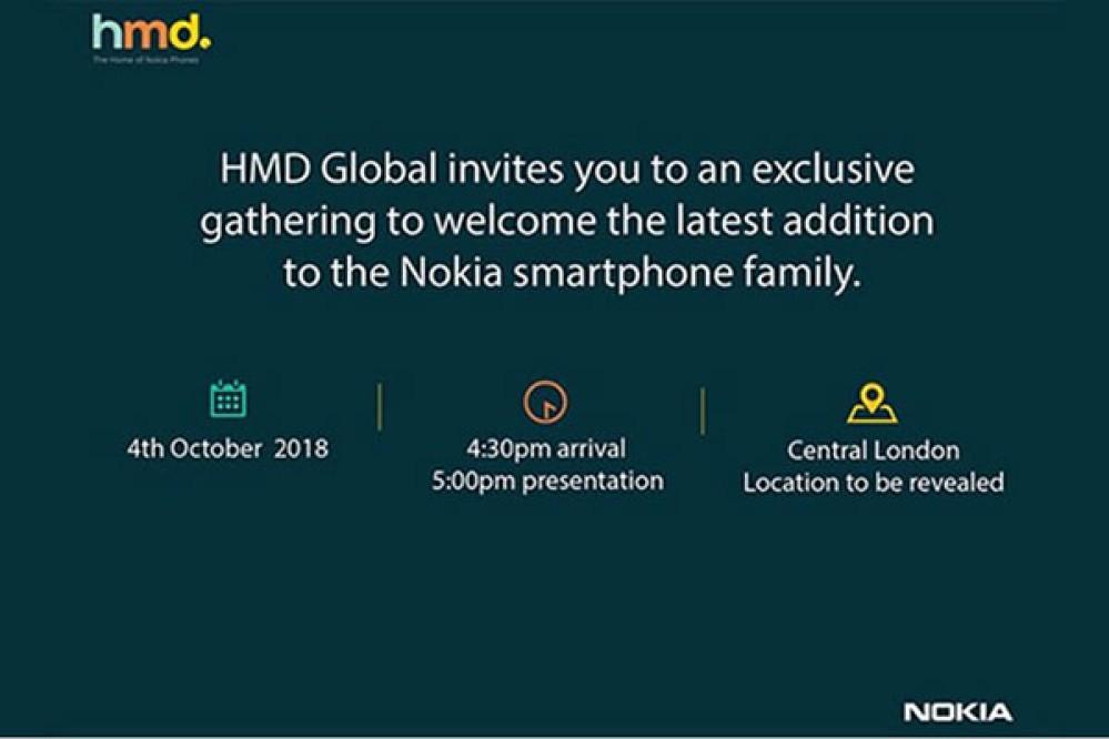 Επίσημο: Το νέο Nokia smartphone παρουσιάζεται στις 4 Οκτωβρίου