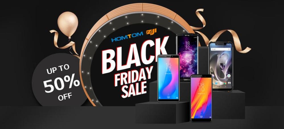 Υπερπροσιτά smartphones της HOMTOM σε τιμές Black Friday