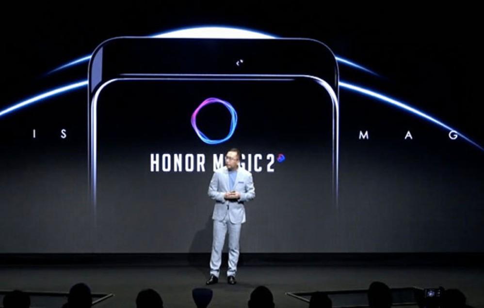 Honor Magic 2: Επίσημη επιβεβαίωση για οθόνη στο 100% της πρόσοψης και συρόμενο camera module