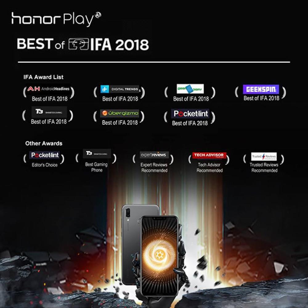 Honor Play: Πολύ έξυπνο, πολύ γρήγορο, πολυβραβευμένο