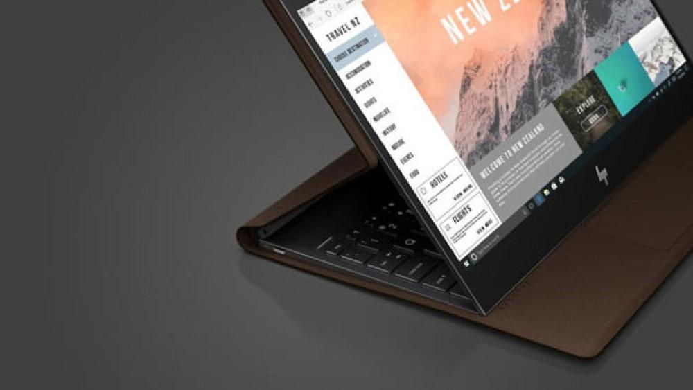 HP Spectre Folio: Ένα εντυπωσιακό premium convertible laptop με δέρμα! [Video]