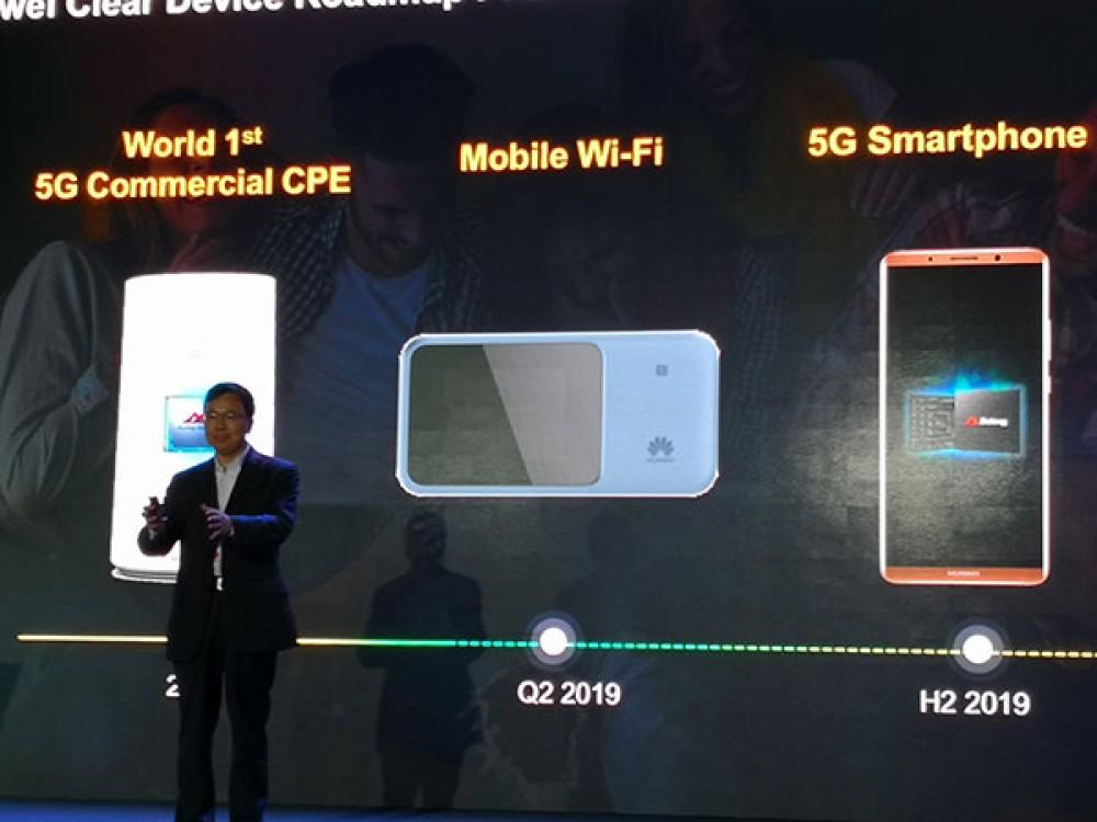 Η Huawei θα παρουσιάσει 5G smartphone μέσα στο 2019