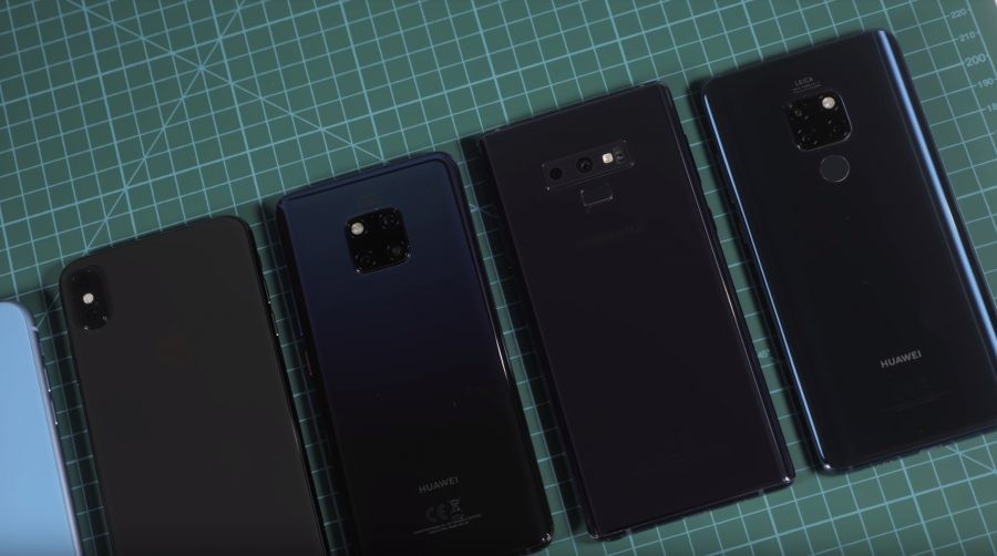 Huawei Mate 20 Pro vs iPhone Xs Max vs Samsung Galaxy Note 9  vs OnePlus 6T: Η μάχη της μπαταρίας