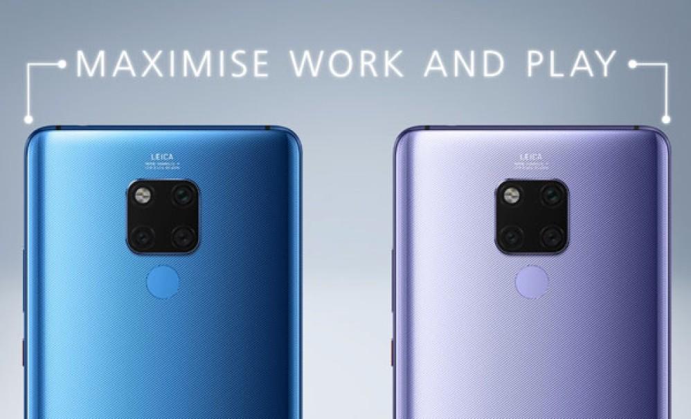 Huawei Mate 20X: Επίσημα με οθόνη 7.2'', γραφίδα, τις κάμερες του Mate 20 Pro και μπαταρία 5000mAh