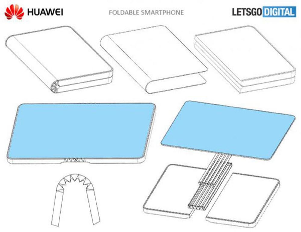 Πατέντα της Huawei δείχνει ότι και αυτή θέλει να κατασκευάσει αναδιπλώμενο smartphone