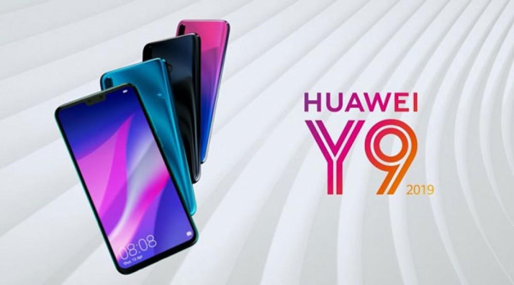 Huawei Y9 (2019): Επίσημα με οθόνη 6.5'' FHD+, διπλές κάμερες εμπρός και πίσω, και μπαταρία 4000mAh
