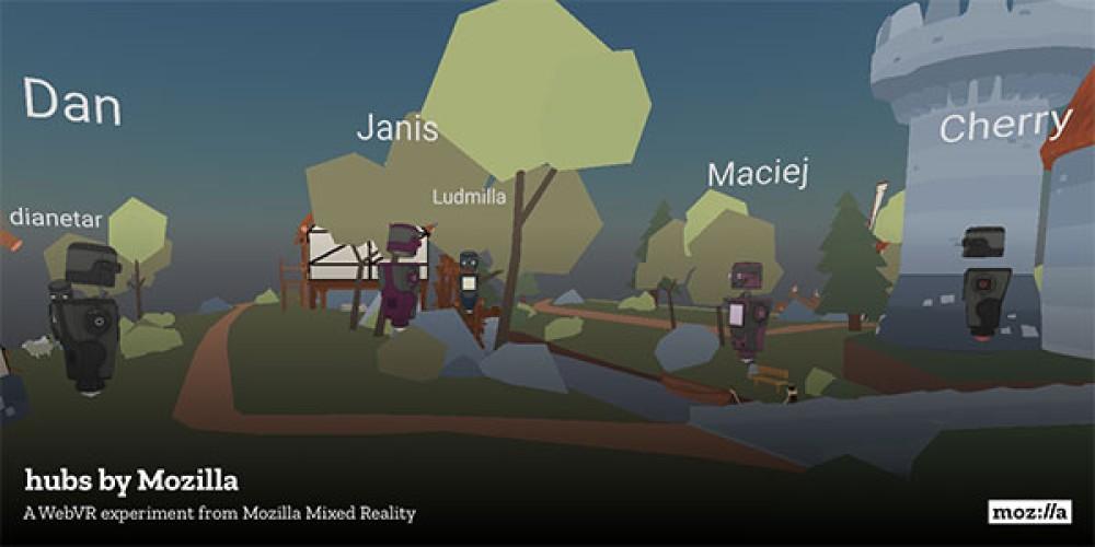 Hubs by Mozilla: Ένα ιδιωτικό chatroom σε περιβάλλον εικονικής πραγματικότητας για οποιοδήποτε browser ή VR/AR headset