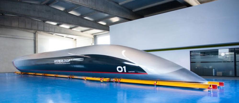 Hyperloop Quintero One: Αυτή είναι η κάψουλα που θα μεταφέρει τους επιβάτες στο τραίνο του μέλλοντος