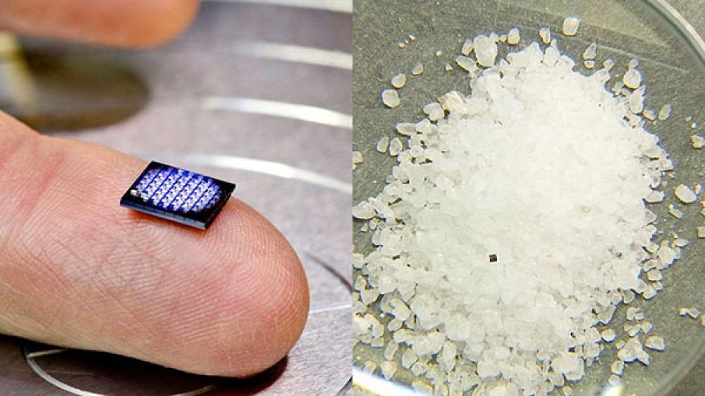 Η IBM παρουσιάζει υπολογιστή με μέγεθος μικρότερο από έναν κόκκο αλατιού!