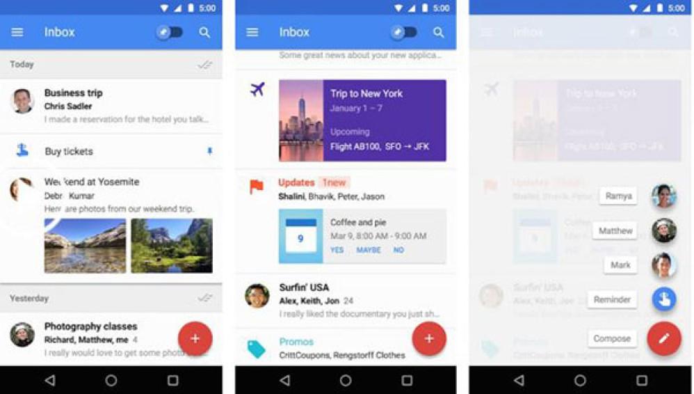 """Η Google """"σκοτώνει"""" το Inbox για χάριν του Gmail τον Μάρτιο του 2019"""