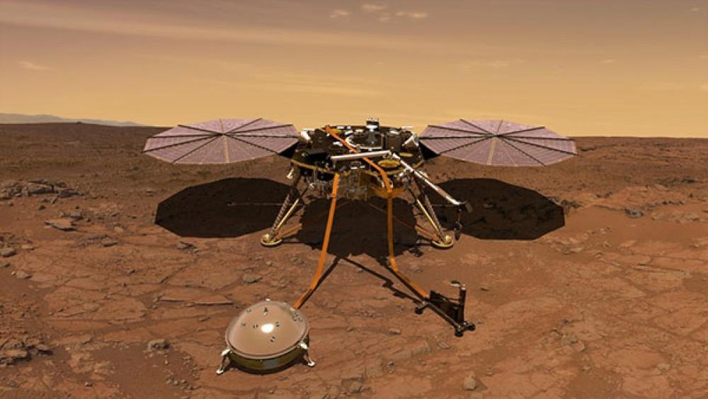 "NASA InSight: Επιτυχής η εκκίνηση για την αποστολή που θα μελετήσει τον πλανήτη Άρη εκ των ""έσω"" [Videos]"