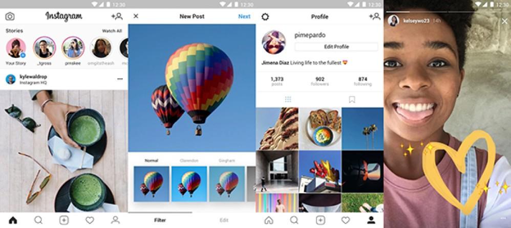 Instagram Lite: Κυκλοφόρησε η ελαφριά έκδοση της εφαρμογής στο Google Play