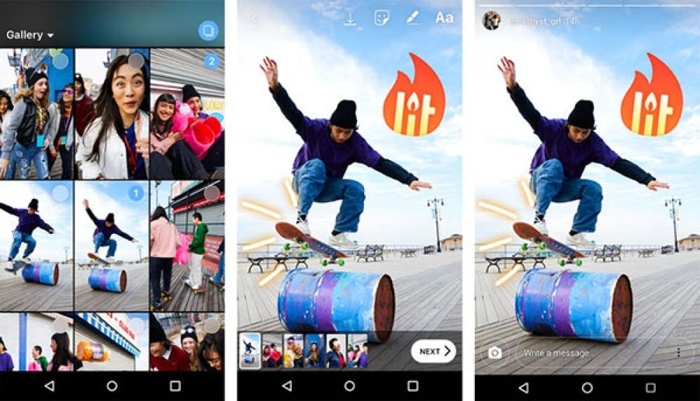 Instagram: Τώρα μπορείς να ανεβάζεις ταυτόχρονα έως 10 φωτογραφίες ή videos για Instagram Stories