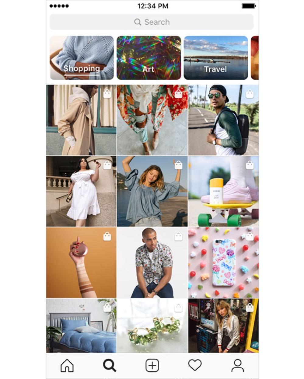 Instagram: Φέρνει την κατηγορία Shopping στην καρτέλα Explore και στα Stories