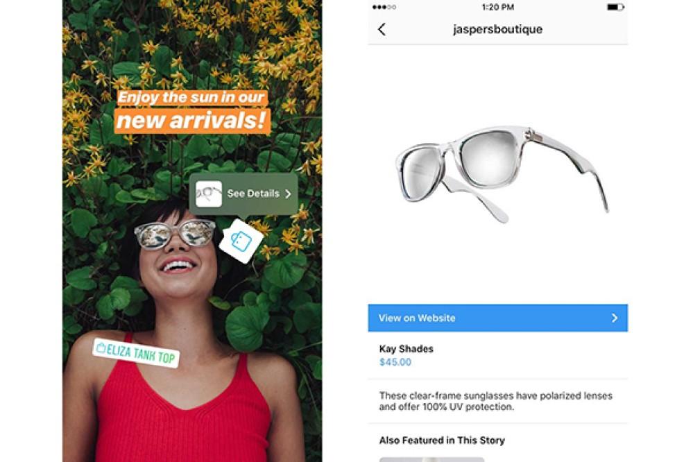 Το Instagram σου επιτρέπει να πραγματοποιείς αγορές απευθείας από τα Stories