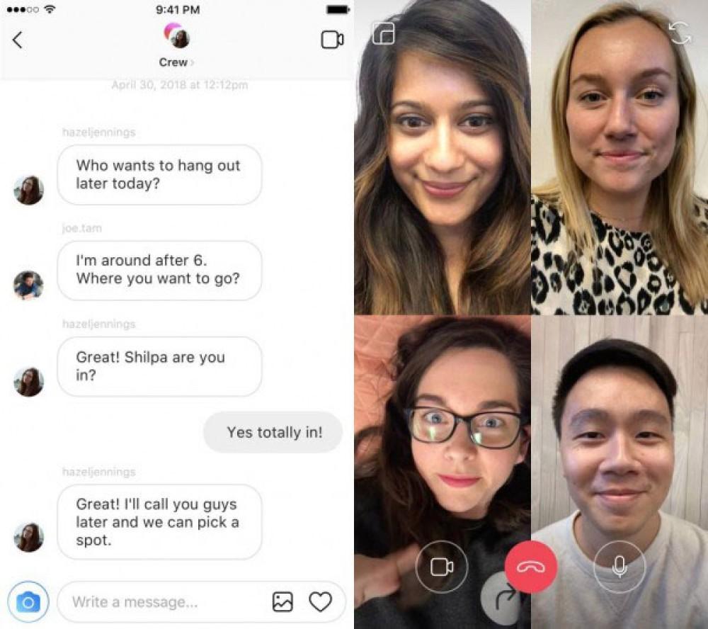 Instagram: Έρχεται σύντομα λειτουργία video chat, AR effects και ενσωμάτωση third-party εφαρμογών στα Stories