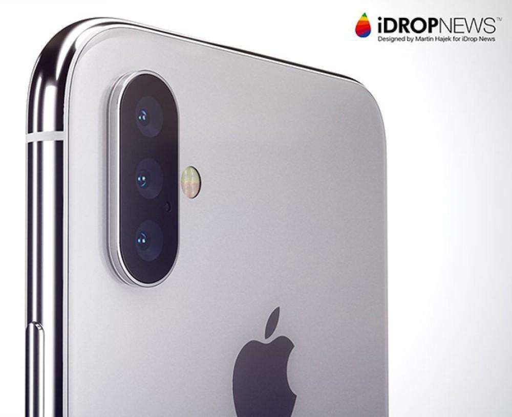 Φήμες για τριπλή κάμερα στο επόμενο iPhone για 3D sensing και ενισχυμένο zoom