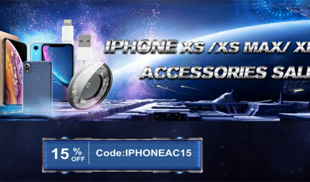 Αξεσουάρ για iPhone XS/XS Max/XR σε καλές τιμές και με επιπλέον έκπτωση 15%
