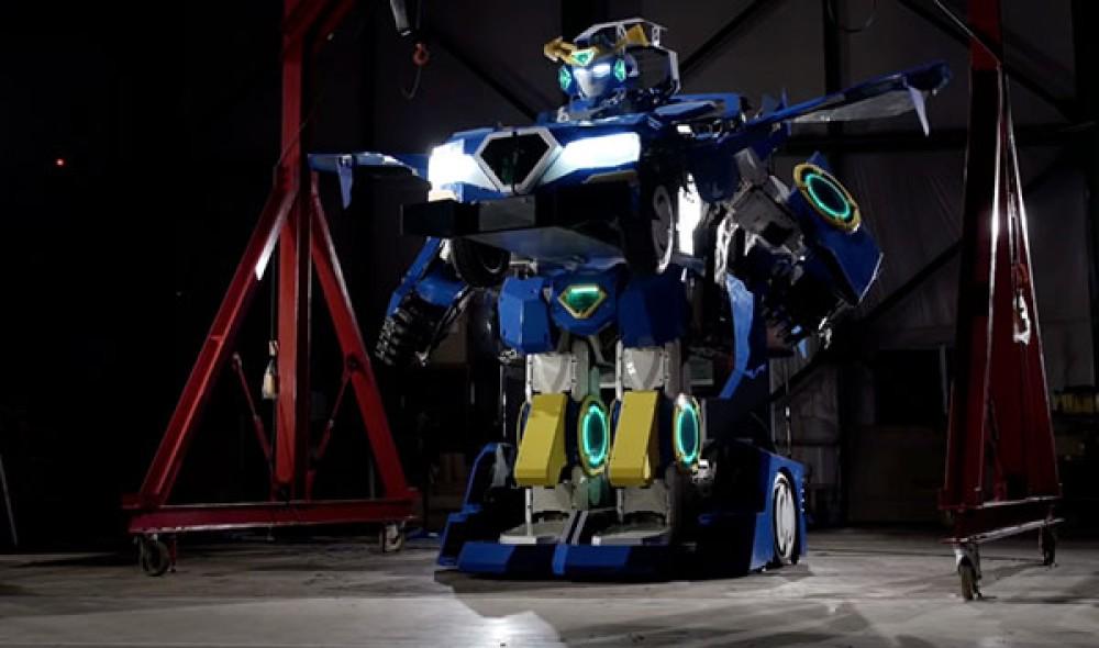 Τα Transformers μπορούν να κατασκευαστούν στην πραγματικότητα και αυτό το ρομπότ είναι η απόδειξη! [Videos]