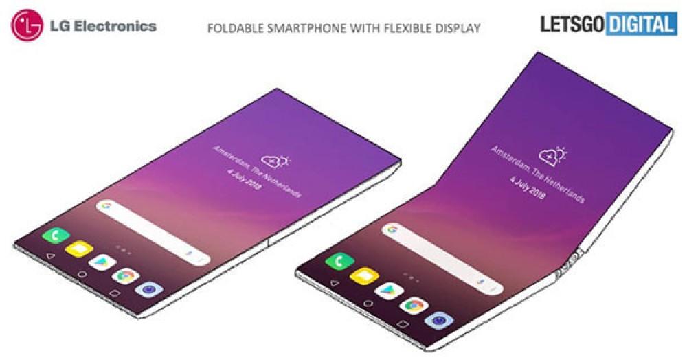 Νέα πατέντα από την LG για αναδιπλώμενο smartphone με full-screen οθόνη