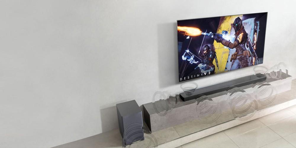 Οι τεχνολογίες ήχου της LG προσφέρουν την απόλυτη εμπειρία gaming