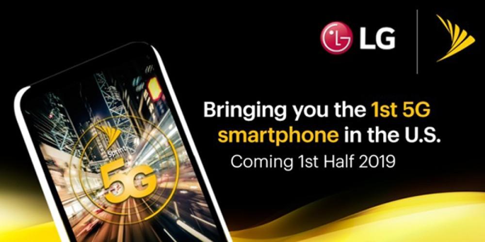 Η LG ετοιμάζει 5G smartphone για λογαριασμό της Sprint στο πρώτο μισό του 2019