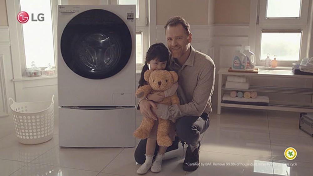 LG Steam Washing Machine: Πλυντήριο με τεχνολογία ατμού για βαθύ καθαρισμό και μείωση αλλεργιογόνων ουσιών κατά 99.9% [Video]