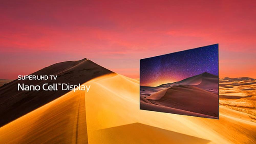 LG Super Ultra HDTV Nano Cell: Νέα μοντέλα τηλεοράσεων που αποδίδουν πλούσια χρώματα και τέλειο μαύρο