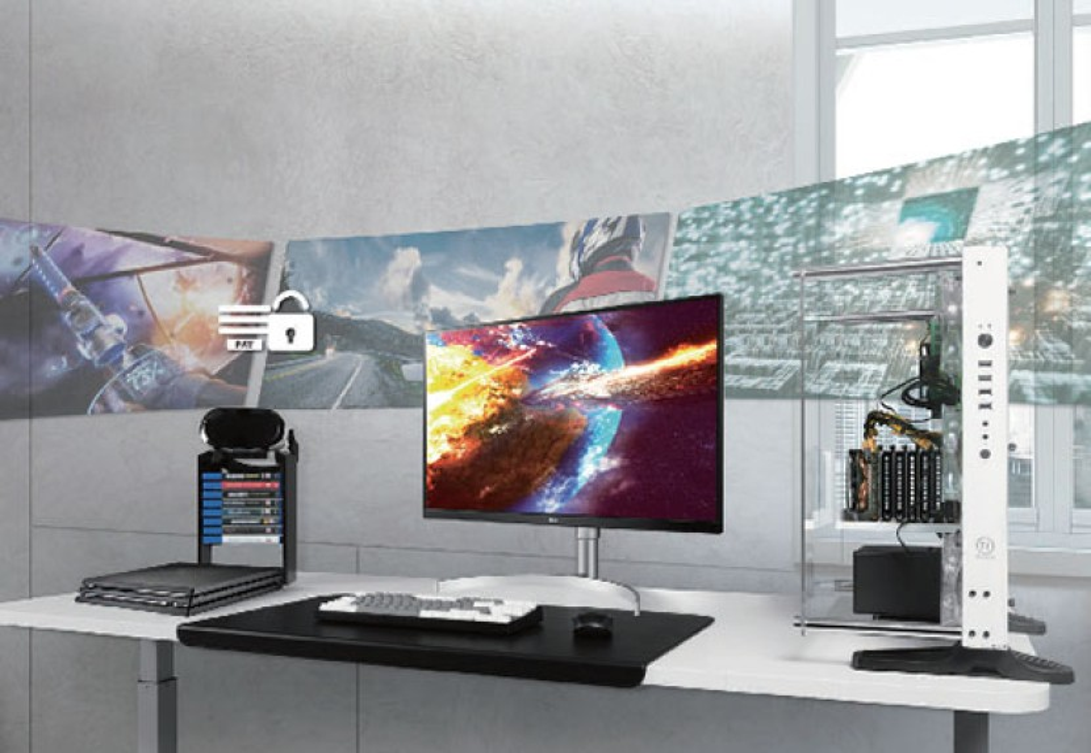 LG UHD 4K Monitor UK850-W: Νέα οθόνη 27'' για απαιτητικούς δημιουργούς περιεχομένου και gamers