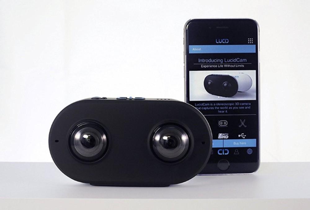 LucidCam: Η κάμερα που βλέπει όπως τα μάτια σου σε 3D VR [Video]