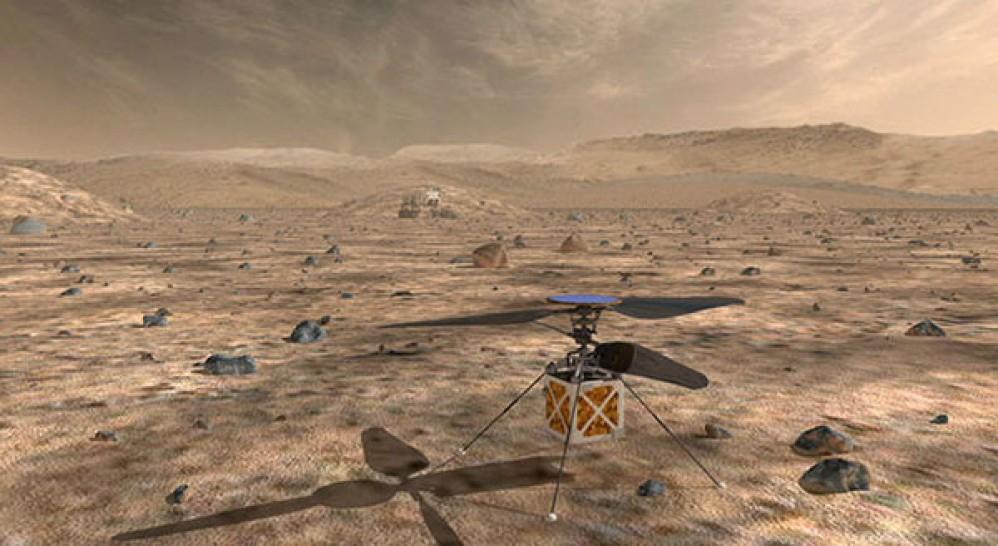Η NASA ετοιμάζει αυτόνομο ελικόπτερο για τον πλανήτη Άρη [Video]