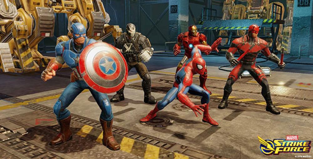 Marvel Strike Force: Διαθέσιμο δωρεάν το νέο mobile game για συσκευές Android και iOS [Video]