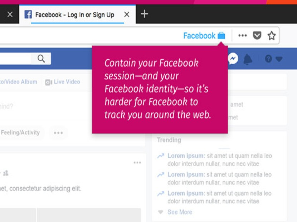 Το νέο επίσημο add-on του Mozilla Firefox απομονώνει το Facebook για να μην παρακολουθεί τη δραστηριότητα σας