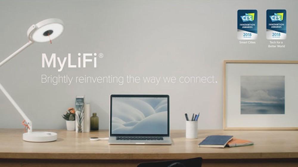 MyLiFi: Μια πρωτοποριακή λάμπα LED που εκπέμπει...Internet [Video]