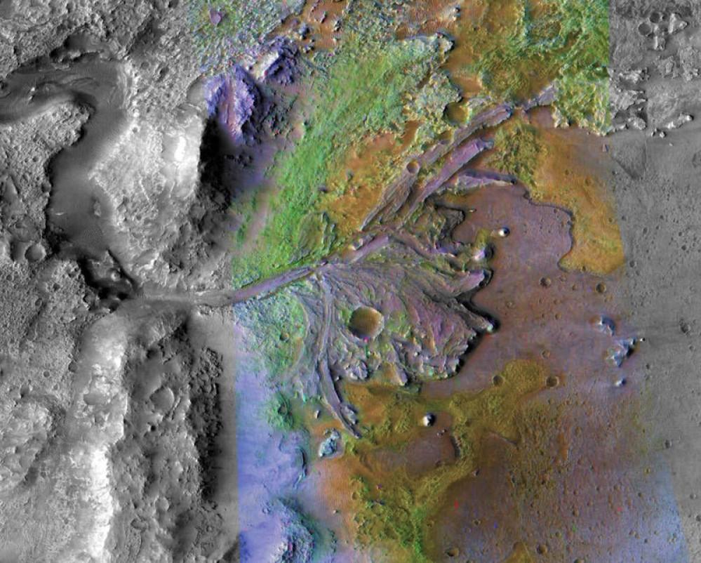 Η NASA αποκάλυψε την τοποθεσία προσεδάφισης στον πλανήτη Άρη για την αποστολή Mars 2020