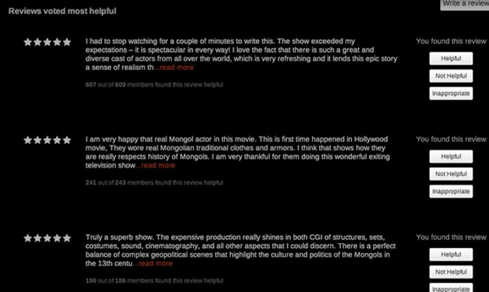 Netflix: Απέσυρε οριστικά τις κριτικές (reviews) των χρηστών από την πλατφόρμα