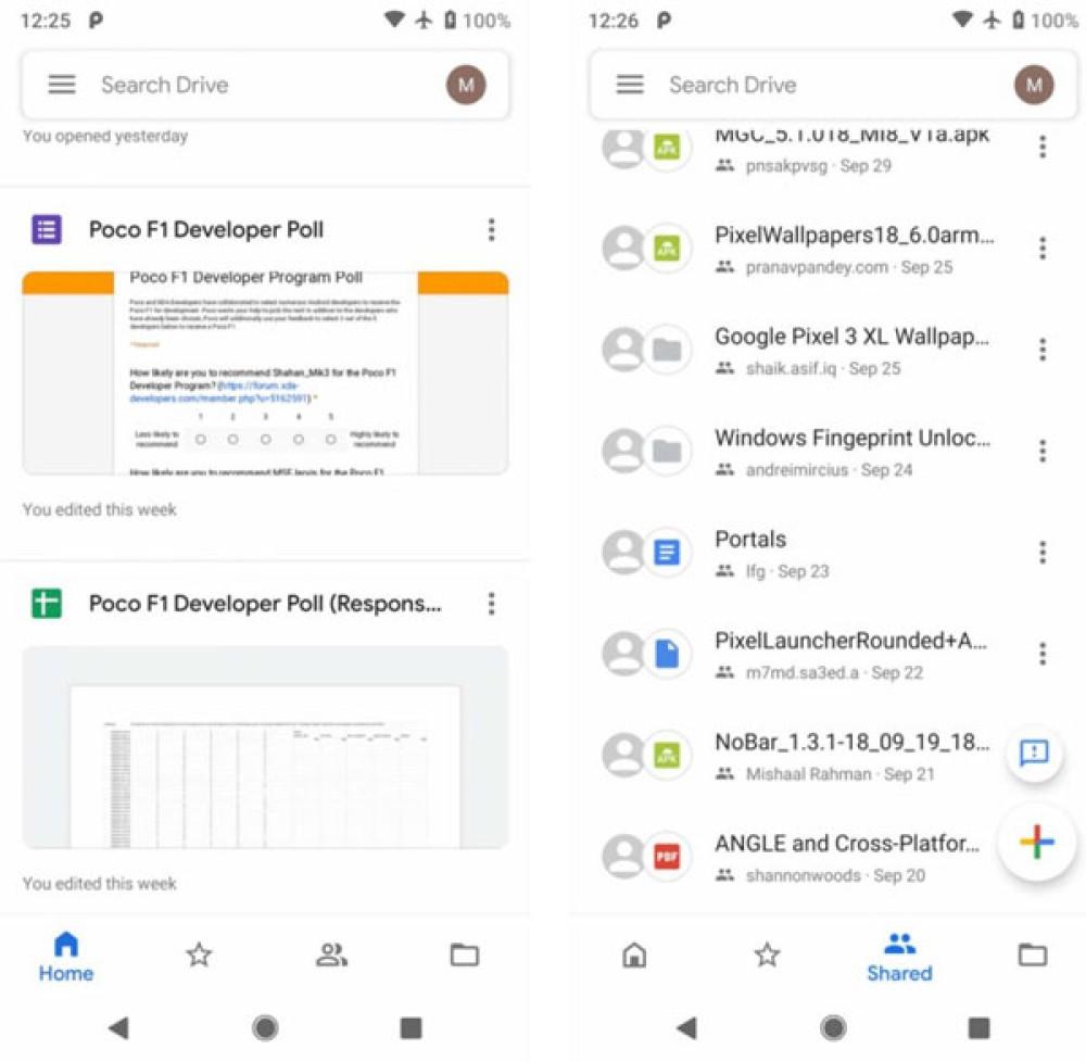 Google Drive: Αναβαθμίζεται στο Material Design 2 μέσα στις επόμενες ημέρες [Pics]