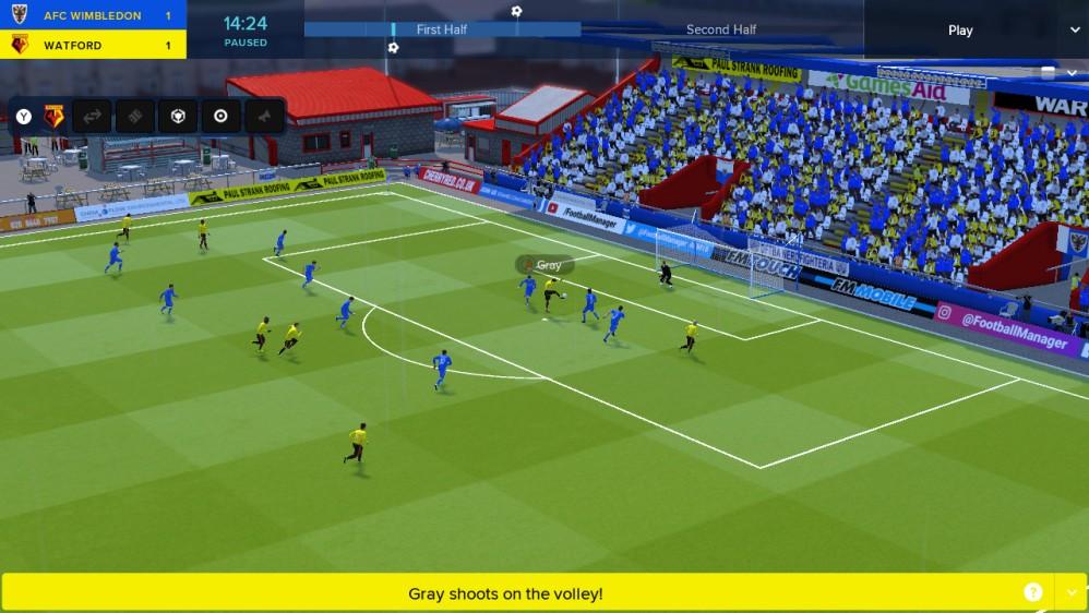 Football Manager Touch 2018: Διαθέσιμο και στο Nintendo Switch από σήμερα