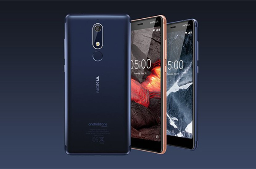 Nokia 5.1, Nokia 3.1 και Nokia 2.1: Αυτή είναι η επόμενη γενιά με πρωτοποριακό σχεδιασμό και Android One/Go