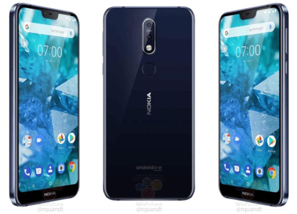 Nokia 7.1: Πλήρης διαρροή τεχνικών χαρακτηριστικών, renders και τιμών για τις δύο εκδόσεις του