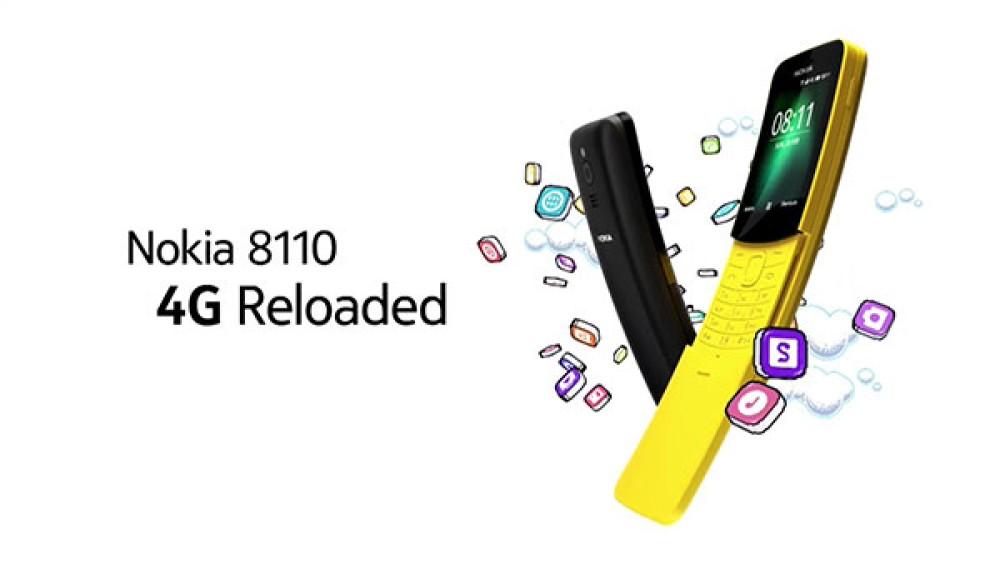 Nokia 8110 4G: Επίσημα η αναβίωση του θρυλικού μοντέλου με το συρόμενο πορτάκι! [MWC 2018]