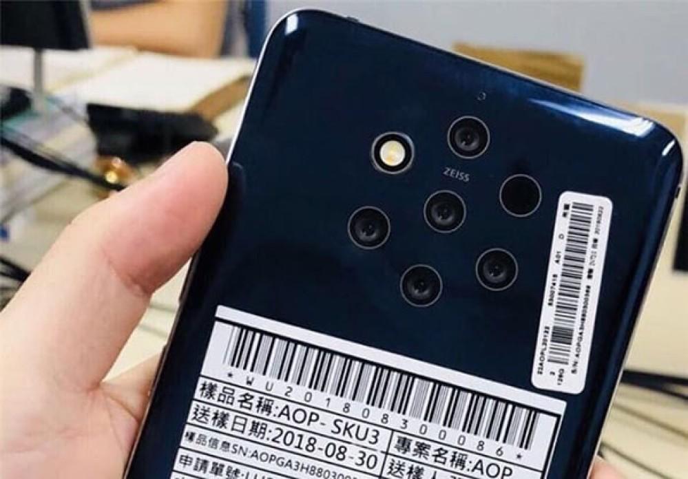 Είναι αυτό το Nokia 9 με τις 5 κάμερες στο πίσω μέρος; [Photo]