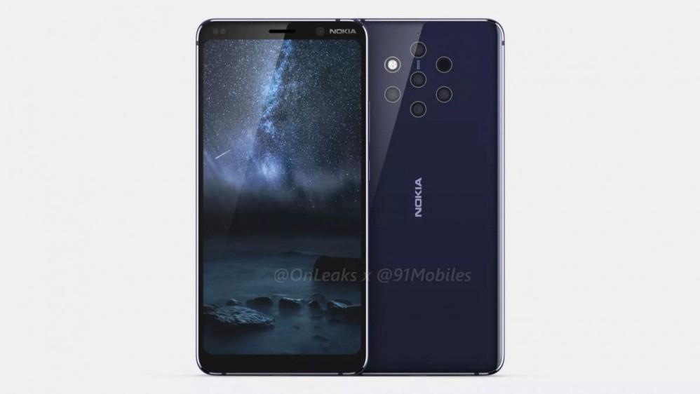 Nokia 9: Εντυπωσιακά renders και video 360º για την ναυαρχίδα με τις 5 κάμερες