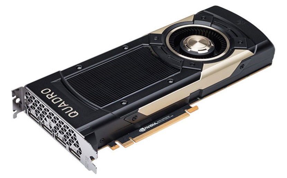 Nvidia Quadro GV100: Αυτή είναι η ισχυρότερη κάρτα γραφικών στον κόσμο με 32GB VRAM για Ray Tracing [Video]