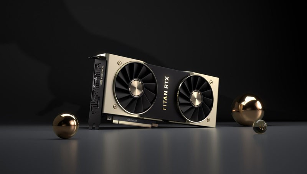 Nvidia Titan RTX: Επίσημα η πανίσχυρη κάρτα γραφικών στα....$2500